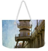 Dreamy Day At Huntington Beach Pier Weekender Tote Bag