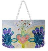 Dreamy Heart Weekender Tote Bag