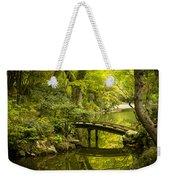 Dreamy Japanese Garden Weekender Tote Bag by Sebastian Musial