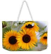 Dreamy Sunflower Day Weekender Tote Bag
