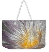 Dreamy Waterlily Weekender Tote Bag