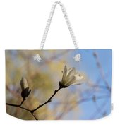 Dreamy Wild Magnolia In The Forest Weekender Tote Bag