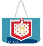 Dreidels Weekender Tote Bag by Linda Woods