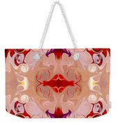 Drenched In Awareness Abstract Healing Artwork By Omaste Witkows Weekender Tote Bag