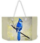 Dressed In Blue Weekender Tote Bag