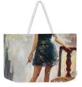 Dressed Up Girl Weekender Tote Bag