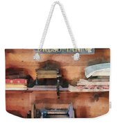 Dressmaking Supplies And Sewing Machine Weekender Tote Bag