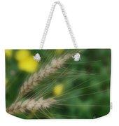 Dried Grass In Soft Focus Weekender Tote Bag