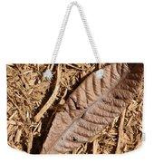 Dried Leaf Weekender Tote Bag