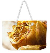 Dried Yellow Rose Weekender Tote Bag