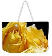 Dried Yellow Rose II Weekender Tote Bag