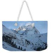 Drifting Snow Weekender Tote Bag