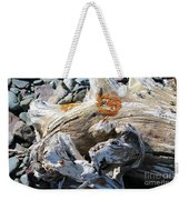 Driftwood Abstract Weekender Tote Bag