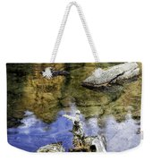 Driftwood And Reflections Weekender Tote Bag