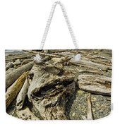 Driftwood And Sea Stacks On Ruby Beach Weekender Tote Bag