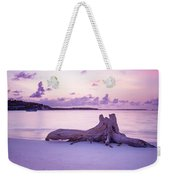 Driftwood At Sunset Weekender Tote Bag