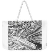 Critter In The Driftwood  Weekender Tote Bag