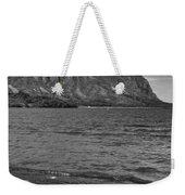 Driftwood-black And White Weekender Tote Bag