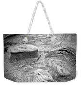 Driftwood Butte Bw 1 Weekender Tote Bag