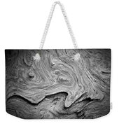 Driftwood Butte Bw 2 Weekender Tote Bag