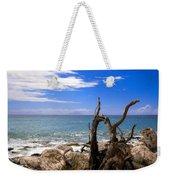 Driftwood Island Weekender Tote Bag