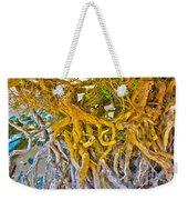 Queen Mariana's Driftwood Weekender Tote Bag