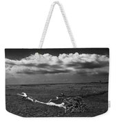 Driftwood On The Beach At Whitefish Point Weekender Tote Bag