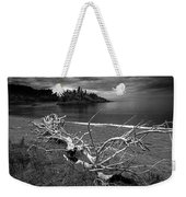 Driftwood On The Shore Near Wawa Ontario Canada Weekender Tote Bag