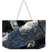 Driftwood Texture And Shadows Weekender Tote Bag