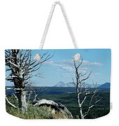 Gnarled Trees And Divide Mountain Weekender Tote Bag