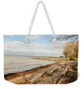 Driftwood On Shore Weekender Tote Bag