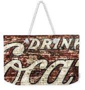Drink Coca-cola 2 Weekender Tote Bag by Scott Norris
