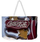 Drink Coca Cola Sign Weekender Tote Bag