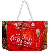 Drink Coke In Bottles Weekender Tote Bag