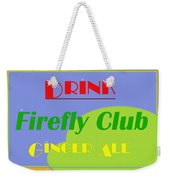 Drink Firefly Club Ginger Ale Weekender Tote Bag