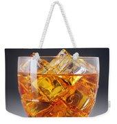 Drink On Ice Weekender Tote Bag by Carlos Caetano