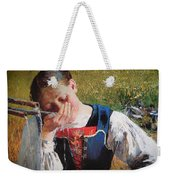 Drinking From The Hand Weekender Tote Bag