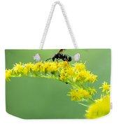 Drinking Up Flower Nectar Weekender Tote Bag