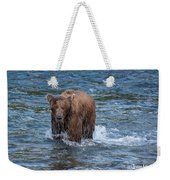 Dripping Grizzly Weekender Tote Bag