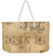 Drive Assembly Platform Weekender Tote Bag by James Christopher Hill