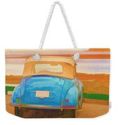 Drive To The Shore Weekender Tote Bag