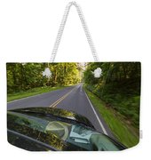 Drive To Vacation Weekender Tote Bag