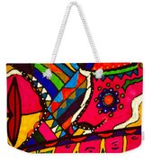 Driven To Abstraction - Parts And Pieces Weekender Tote Bag