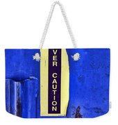 Driver Caution Weekender Tote Bag