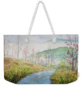 Driving Down The Mountain Weekender Tote Bag