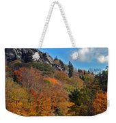 Driving Through Autumn's Beauty   Weekender Tote Bag