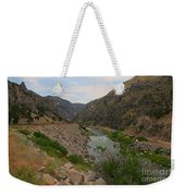 Driving Through Wind River Canyon Weekender Tote Bag