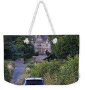 Driving To Manor House Weekender Tote Bag