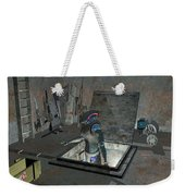 Droid Discovering A Weapons Cache Weekender Tote Bag