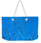 Droplets Cascade Weekender Tote Bag